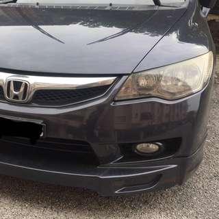 Bumper depan fd facelift