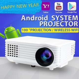 HD Projector/Android Projector WIFI