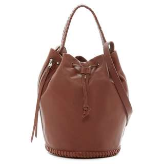 All Saints Club Leather Bucket Bag