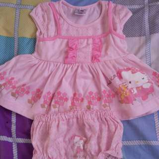 hello kitty newborn dress