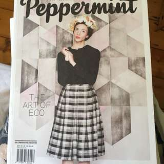 Peppermint magazine winter 2013
