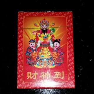 Fortune God poker cards