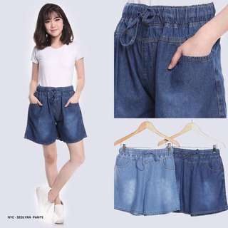 Sedlyra Plain Casual Short Pants