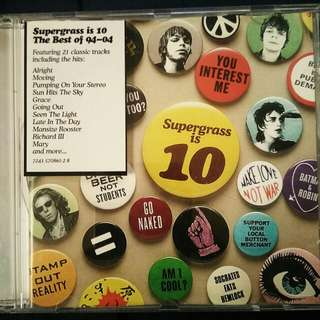 Supergrass is 10- The Best of '94-'04