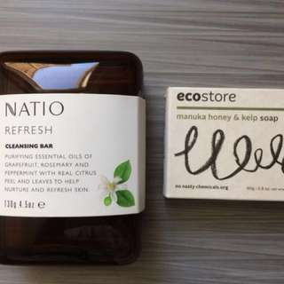Natio Soap Travelling Case With Soap