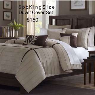 King size brand new Comforter & Duvet Cover Sets