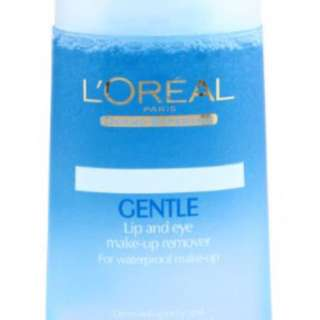 L'Oréal lip and make up remover