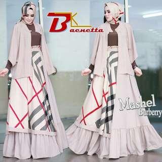 Cardi Dress Set Mashel Coksu ORIGINAL by Baenetta READY