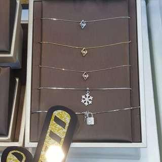 情人節禮物 Park Royal S925純銀包白金+瑞士碳鑽