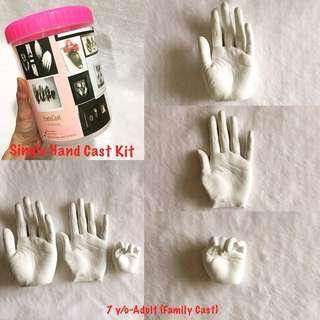 Single Hand Life Casting Kit/DIY/Lifecasting