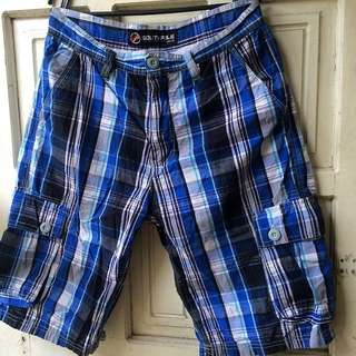 Checkered Shorts Size 30