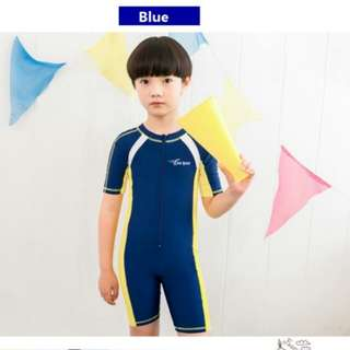 Boys and girls one piece swimming suit/ kids swim wear
