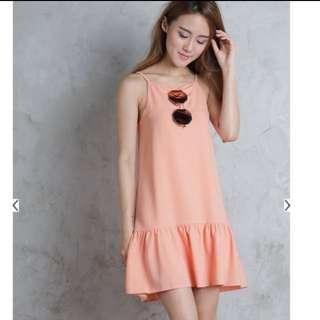 TTR carena drop waist dress