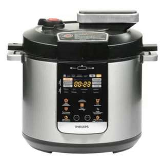 PHILIPS  ELECTRIC PRESSURE COOKER 6L HD 2178