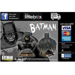 PRIME 1 STUDIO Batman: Arkham City (The Dark Knight Returns) Batman Premium Bust