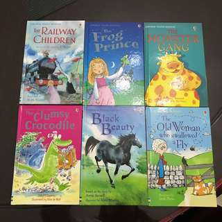 Usborne Young Reading (Hardcover)(Bundle of 6)