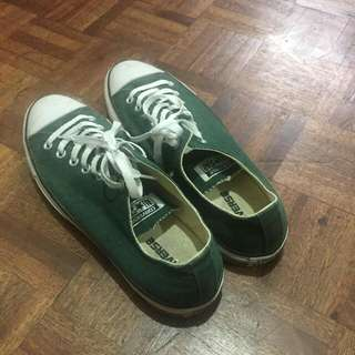 CONCERSE ALL STAR GREEN