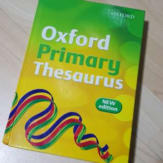 Primary Dictionary / Thesaurus