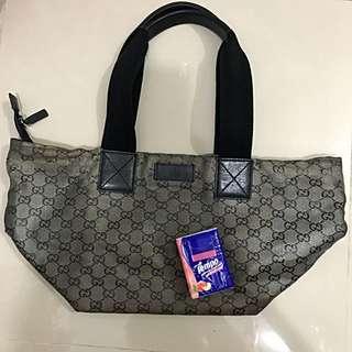 Gucci-M size with coating total bag ---not Lv Miu Miu