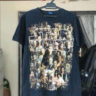 Preloved bundle Star Wars Tshirt