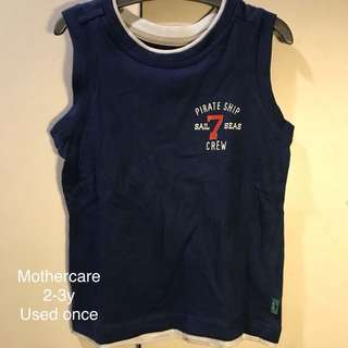 Mothercare Muscle Tee