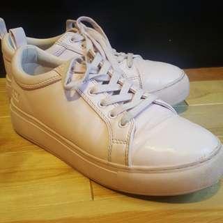MATT & NAT - Bonaventure Platform sneakers (Pale Pink / Size: 7.5)