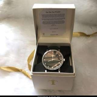 TOMATO TIME black wrist watch