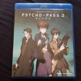 Psycho-pass season 2 blu-ray anime series