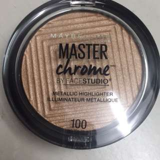 Maybelline Master Chrome Highlighter in Molten Gold