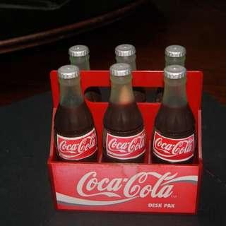 Vintage Miniature Coca Cola Bottles