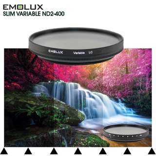 Emolux Digital SLIM Variable ND2-400 Light Control Filter ★37mm-77mm★