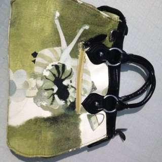 avocado green bag