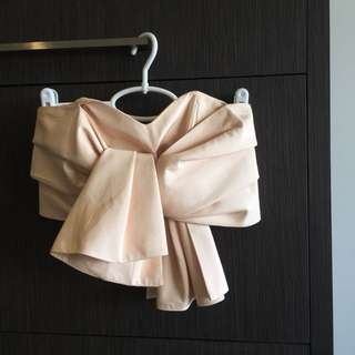 CAMEO Blush Twist Crop Top