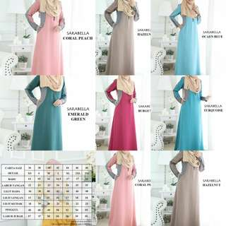Plus Size Muslimah Dress