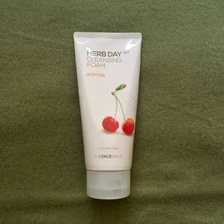 FACE SHOP HERB DAY CLEANSING FOAM