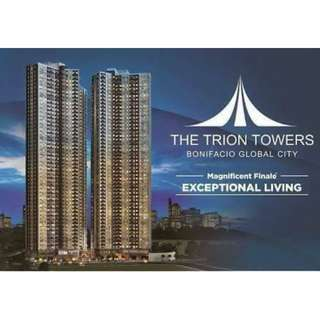 1 Bedroom Ready For Occupancy in Taguig BGC the Fort The Trion Towers