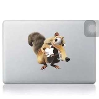 Scrat MacBook Decal