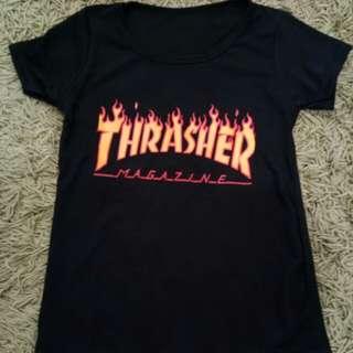 Baju kaos Thrasher