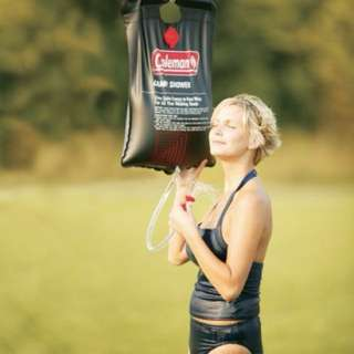 Charity Sale! Coleman Solar Powered Shower for Camping Hiking #freedelivery3