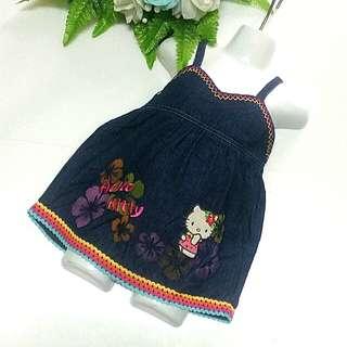 Hello Kitty denim dress