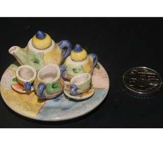 Mniature Teapot Set