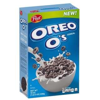 Oreo's 朱古力穀物脆片