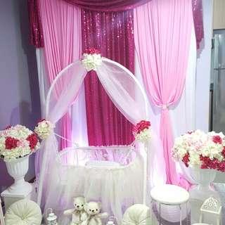 Baby shower pink girl