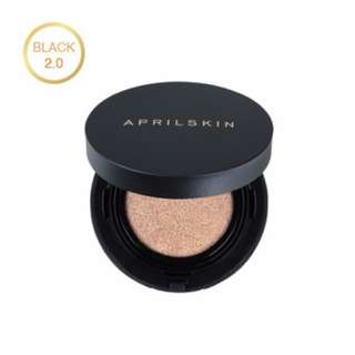 [$21 SALE!] April skin magic cushion 2.0 Black