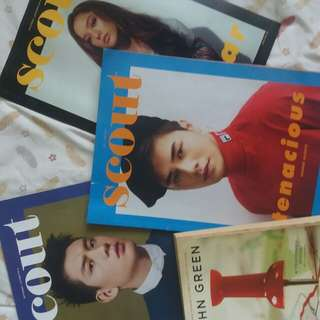 paper towns + free scout mags