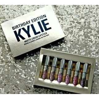 Kylie Birthday Edition Lipstick set of 6