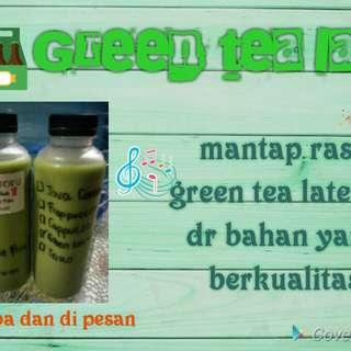 Green tea late