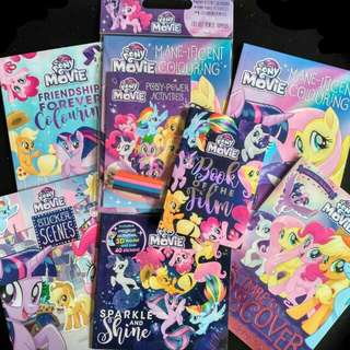 My little pony books set
