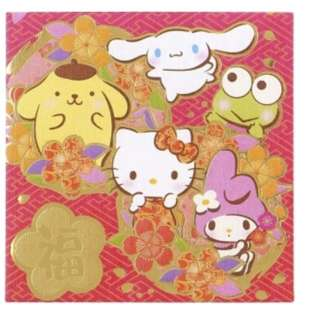 Chinese new year sanrio characters red packet