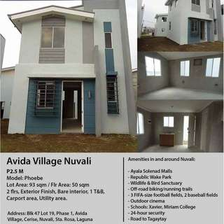House and Lot for sale Nuvali Sta Rosa Laguna